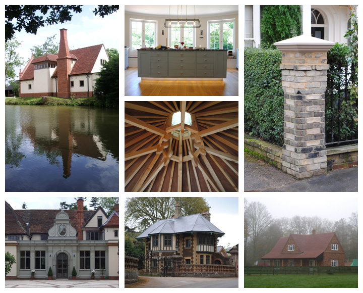 Collage of Vanburgh Projects